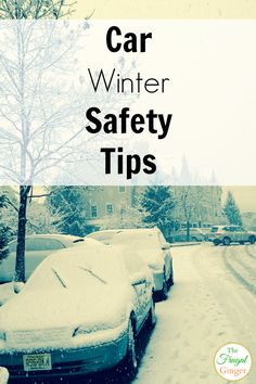 Read these winter car safety tips and hacks to keep your family safe on the roads. The ice and cold weather is on it's way so get prepared now.