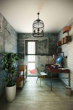 理想的な勉強部屋をつくろう! #homify #ホーミファイ #勉強部屋 #書斎 #インテリア  https://www.homify.jp/ideabooks/368022 CO:interior の インダストリアルな 勉強部屋&オフィス