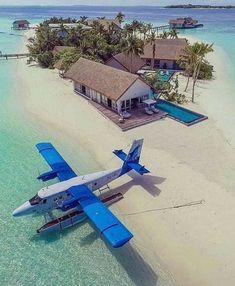 Vacation Places, Vacation Destinations, Dream Vacations, Vacation Spots, Places To Travel, Places To Go, Maldives Vacation, Maldives Beach, Ocean Beach
