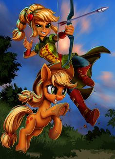 It's time for Applejack Appreciation Day once again, and who has two thumbs and appreciates the hell out of her? Betting on a Pair of Wild 'Jacks My Little Pony Games, My Little Pony Characters, My Little Pony Comic, My Little Pony Pictures, Fluttershy, Equestria Girls, Powerpuff Girls, Rainbow Dash, Dessin My Little Pony