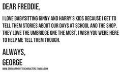 Dear Freddie