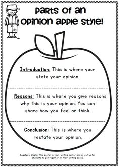 Johnny Appleseed Opinion Writing Printables for First and Second Grade$  CCSS http://www.teacherspayteachers.com/Product/Johnny-Appleseed-Opinion-Writing-Printables-for-First-and-Second-Grade-871656