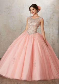 cc48e1cfec Quinceanera Dress 89129 Vizcaya Collection Vestido Coral