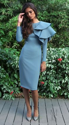 Casual Dresses, Short Dresses, Casual Outfits, Fashion Dresses, What To Wear To A Wedding, Western Wedding Dresses, Elegant Outfit, Lovely Dresses, Pretty Outfits