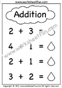 Addition Worksheet Without Carrying   Stuff To Buy