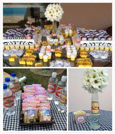 festa boteco mesa de doces