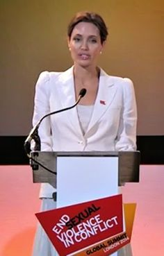 The Eloquent Woman: Famous Speech Friday: Angelina Jolie on sexual violence in conflict