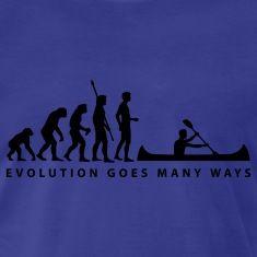 Royal blue evolution_ruderer_b T-Shirts