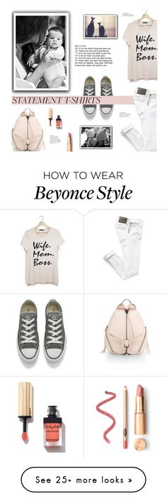 """Say It Loud: Slogan T-Shirts"" by edenslove on Polyvore featuring Converse and Rebecca Minkoff Beyonce Style, Slogan, Rebecca Minkoff, Converse, Polyvore, T Shirt, How To Wear, Fashion, Supreme T Shirt"