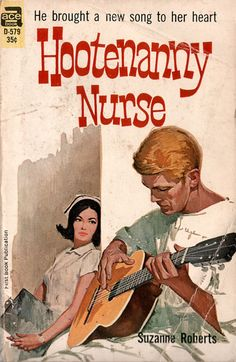 I wonder if the guy in the next bed is as enamored of this hospital hoedown as the nurse seems to be...