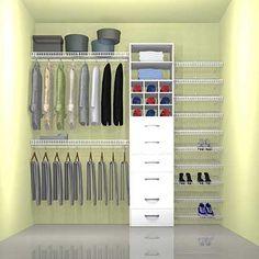 Closet Simples Pequeno e Criativo