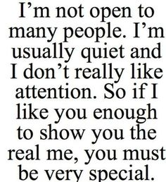 True. This is me.