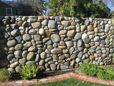 Image result for pebble fencing