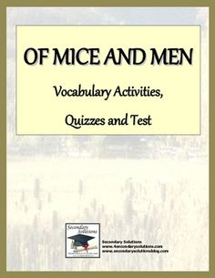 an analysis of georges actions in of mice and men by john steinbeck Of mice and men: chapter 2 john steinbeck  george patted a wrinkle out of his bed, and sat down give the  of mice and men john steinbeck 2.