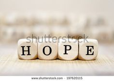 Hope word concept - stock photo