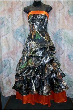 Buy Cheap Camo Wedding Dresses with Pattern, Taffeta Fabric, Court Train, CWD2014071810 Online at camoweddingdresses.co.uk