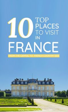 Planning a trip to France soon? Check out this awesome guide on the best places to visit in France including the when is the best time to visit France, how to travel to France, where to stay in France, how to get around France, where to stay in France, things to do in France, what to do in France, best tours in France, and the best France points of interests. Save this France travel guide to your travel board so you can find it later! #France #Europe #Travel #FranceTravel