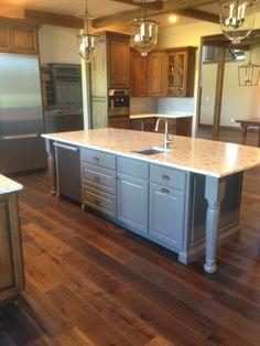 "Summers Oiled Flooring Provenza European White Oak ""Tortoise Shell"" Hardwood Floors, Flooring, White Oak, Tortoise Shell, Rustic, Kitchen, Inspiration, Home Decor, Wood Floor Tiles"