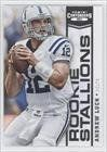 Andrew Luck Indianapolis Colts (Football Card) 2012 Panini Contenders Rookie Stallions #1 by Panini Contenders. $5.00. 2012 Panini Contenders Rookie Stallions #1 - Andrew Luck