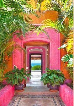 happy, juicy, bright, colorful, sunny!