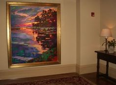 Art In The Home - Smith Killian Fine Art. My FAVORITE gallery and artists in Charleston on Queen.