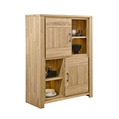 Esszimmer Highboard aus Eiche Massivholz Beleuchtung Jetzt bestellen unter: https://moebel.ladendirekt.de/wohnzimmer/schraenke/highboards/?uid=a6097f66-239e-543d-bddd-5c7f1f8abe31&utm_source=pinterest&utm_medium=pin&utm_campaign=boards #esszimmerschrank #highboards #highbord #schraenke #wohnzimmerschrank #wohnzimmerkommode #esszimmerkommode #wohnzimmer #kommode #esszimmer #highboard #schrank