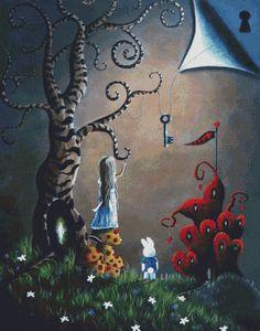 Extra Large Cross Stitch Kit Key to Wonderland By Shawna Erback Fantasy Modern…