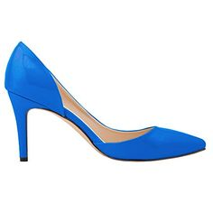 Zbeibei Women's High Heels Pointed Toe Summer Sandals Dress Pumps(9525PA38skyblue) - http://all-shoes-online.com/zbeibei/7-5-b-m-us-zbeibei-womens-high-heels-pointed-toe-33