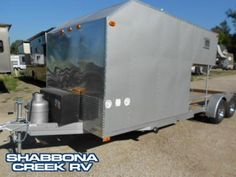 homemade camping trailers pics | 2009 Homemade Trailer W Living Quarters, Travel Trailers RV For Sale ...
