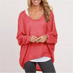 Loose Fit Casual Women's Pullover