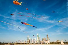 City of the future - Kuwait national day, via Flickr.