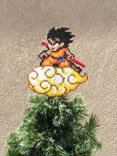 The Dragonball Z Perler Sprites Goku Tree by ShowMeYourBits