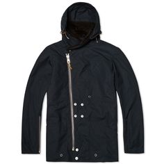 The Nigel Cabourn philosophy is founded on the love of 'Real Products', ensuring each is authentic, exclusive and manufactured with integrity. In the pursuit of quality, the hooded Proto Parka is constructed from 100% cotton and is expertly crafted in the UK. Executed to perfection, the jacket is Genuine Ventile Seam Sealed, a technique used by the RAF in WWII to ensure the garments were windproof and showerproof. Constructed with multiple front pockets, asymmetric zip closure and fireman…