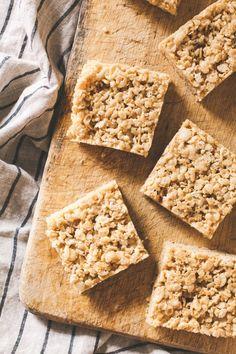 Malted Peanut Butter Rice Crispy Squares | Recipe | Rice Crispy ...