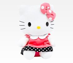 """Hello Kitty 12"""" Plush: Polka Dot"""