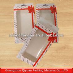 Modelo de embalagem retangular, vertical, com janela