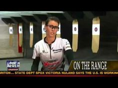 Her name is Jessie Duff. She is a world champion shooter. His name is Sean Hannity. He has a TV show.  Combined, the two bring us seven-plus minutes of gun-shooting, range-blasting goodness.