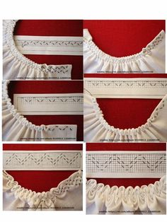 Newest Images sewing hacks leaf Style - (notitle) - Sewing Stitches, Hand Embroidery Stitches, Hand Embroidery Designs, Embroidery Patterns, Smocking Tutorial, Smocking Patterns, Dress Sewing Patterns, Skirt Patterns, Coat Patterns