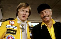 Ronnie Peterson and Colin Chapman