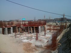 Latest construction images of ‪#‎ImperiaMirage‬, located at Jaypee Sports City, Yamuna Expressway