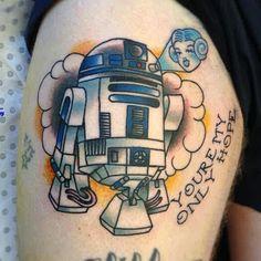Star wars tattoo-R2D2