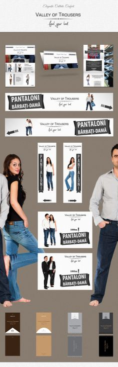 Our work for the Dr. Dietrich Bock & Partner company, for their local fashion shop Valley of Trousers from Szekler Neumarkt, Covasna county, Romania.
