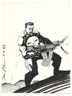 The Punisher - Jim Lee
