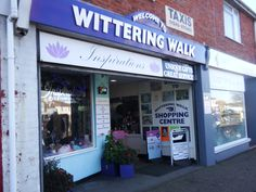 The Witterings Walk on South Parade, East Wittering has a selection of gift, haberdashery shops and cafes in it.