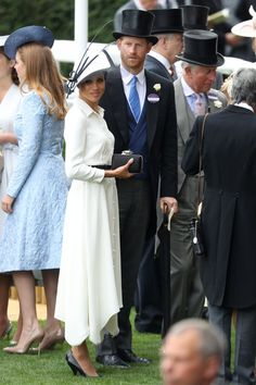 These Photos of Meghan Markle and Prince Harry at Today's Royal Ascot Are Too Good