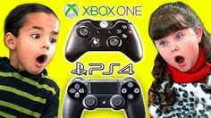 Kids React To XBOX ONE vs. PlayStation 4! on Creator Republic