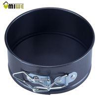 Umiwe Mini Aço Carbono Bakeware Antiaderente Springform Pan Bandejas de Bolo…