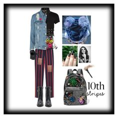 """""""Inlove with a punk rocker"""" by bondgiirl ❤ liked on Polyvore featuring Marvel Comics, River Island, Zana Bayne, Mulberry, FRACOMINA, Topshop, Halogen, Yvng Pearl, Marc Jacobs and Dorothee Schumacher"""