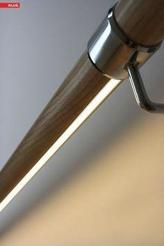 Hand rail lighting