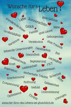 Wünsche fürs Leben – New Ideas # wish for life wish for life Birthday Quotes, Birthday Wishes, Birthday Cards, Happy Birthday, The Words, Citation Force, German Quotes, German Language Learning, German Words